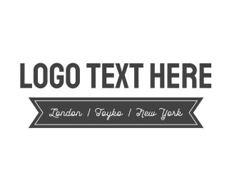 Delicatessen - Black & White logo design