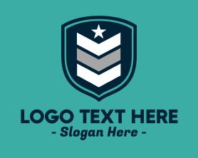 Authority - Military Rank logo design