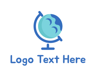 Foreign - Happy Planet logo design