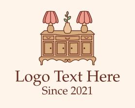 Interior - Antique Interior Furnishing logo design