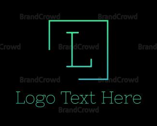 Accountant - Letter Square logo design