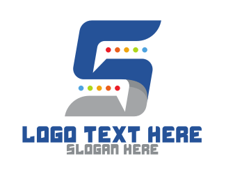 Discord - Chat Number 5 App logo design