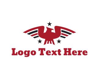 Germany - Patriotic Bird logo design