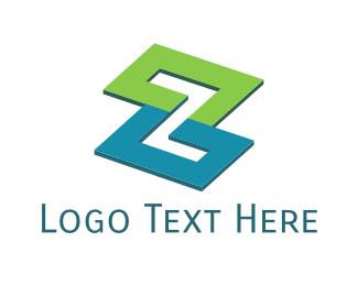 Zig Zag - Modern Zigzag  logo design