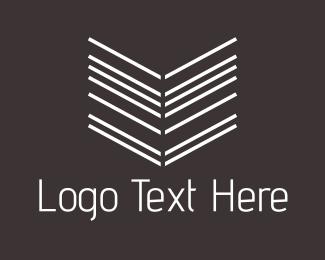 Point - Arrow Lines logo design