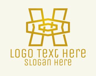Technical - Professional Letter H logo design