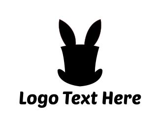 Magic - Rabbit Hat logo design