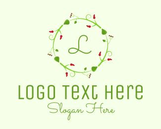 Evergreen - Christmas Decor Lettermark logo design