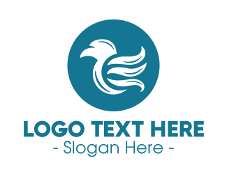 Seagull - Abstract Stylish Bird logo design