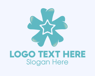 Teeth - Dental Star Teeth Dentist logo design
