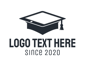 Mobile Tablet - Computer Engineering Graduate logo design