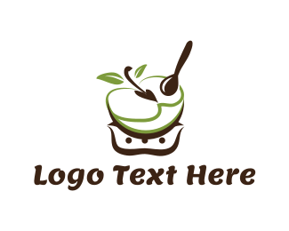 Bowl - Apple Bowl logo design