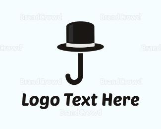 Hat - Cane & Hat logo design