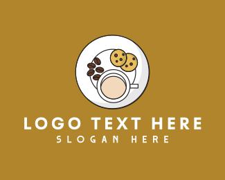 Platter - Breakfast Plate Cafe  logo design