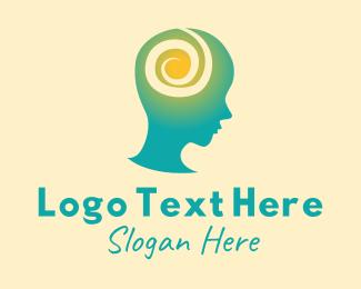 Mental - Mental Health Meditation logo design