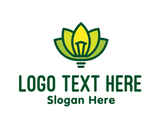 Think - Idea Lotus logo design