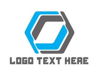 Hexagon - Abstract Hexagon logo design