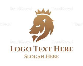 Cub - Gradient Lion King logo design