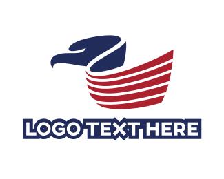 Politician - Flag Bird logo design