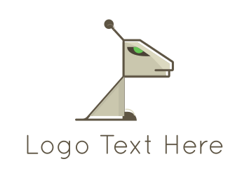 Machine - Robotic Dog logo design