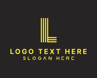 Letter C - Futuristic Yellow Letter C logo design