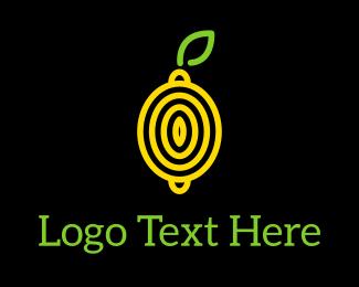 Lemon - Abstract Lemon logo design