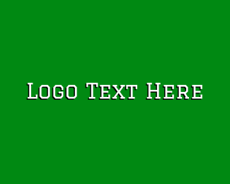 University - White University Wordmark logo design