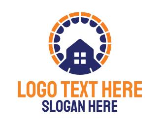 Rental - Circle House Rental logo design