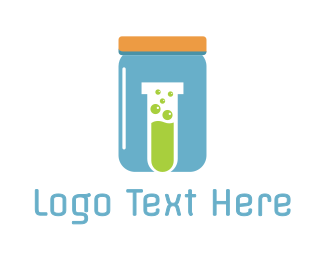 Education - Blue Jar Lab logo design