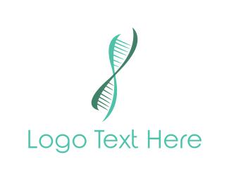 Dna - Genetic Chain logo design