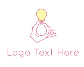 Light - Light Bulb logo design