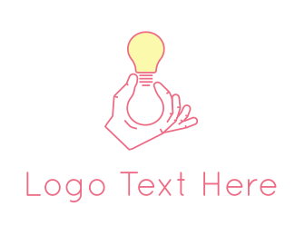 Innovation - Light Bulb logo design