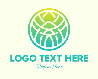 Spa - Geometric Spa Sphere logo design