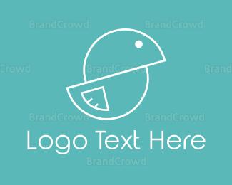 Bird - Rounded Bird logo design