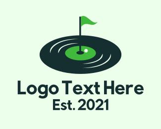 Golf Course - Vinyl Golf Course logo design