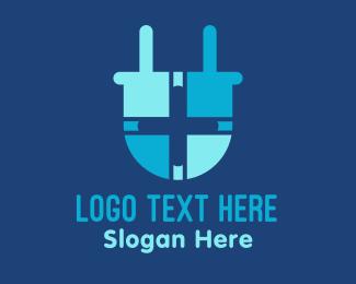 Plug - Medical Plug logo design