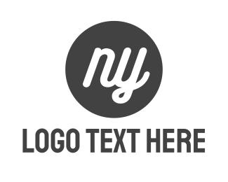 New York - New York Circle logo design
