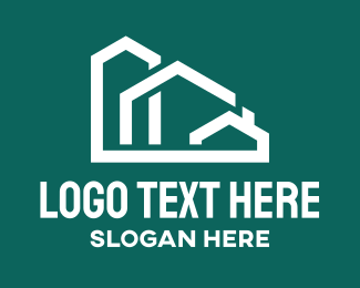 Property Agent - Real Estate Housing Property logo design