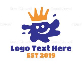 Graffiti - Paint King logo design