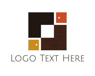 Cupboard - Carpentry Boxes logo design