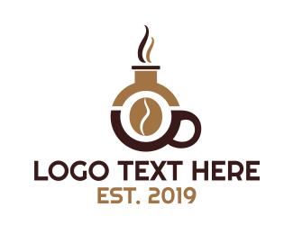 Science - Coffee Bean Science logo design