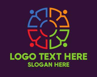 Community - Modern Community People logo design