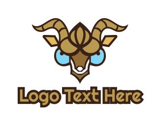 Video Game - Goat Gaming logo design