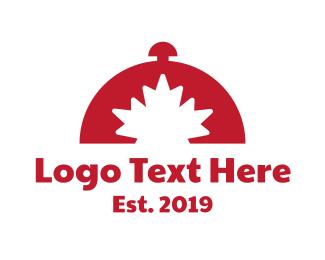 Buffet - Red Canadian Buffet logo design