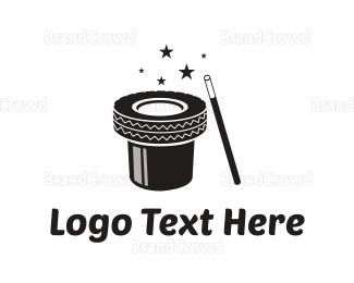 Magic - Magic Tire logo design