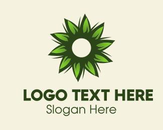 Green Flower Logo