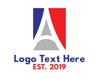 France - France Letter A logo design
