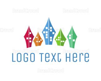 Exhibition - Educational City logo design