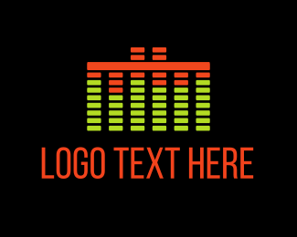 Music Label - Music Sound logo design
