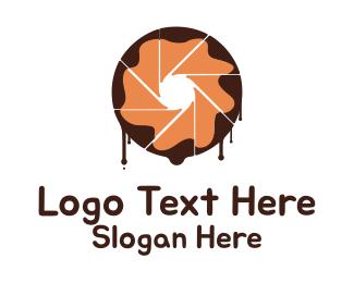 Dessert - Dessert Lens logo design